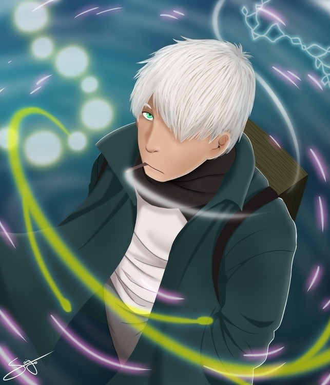 Ginko Mushishi - mushishi, anime - saigo | ello