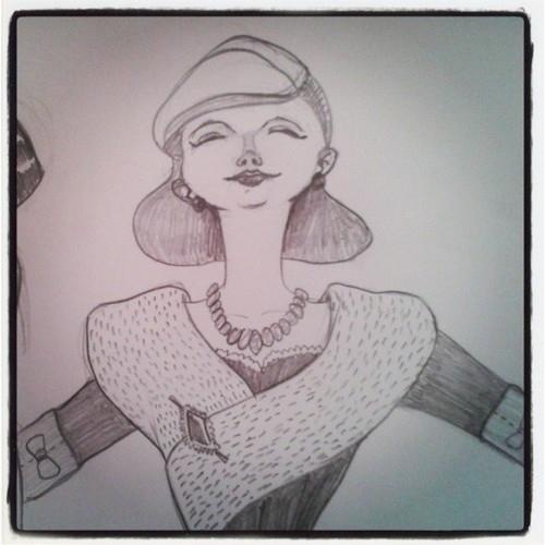 Breathing free - fashion, fashionillustration - leyleyleu | ello