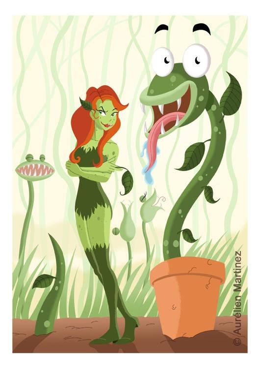 Poison ivy terrifying plants, n - aurelienmartinez | ello