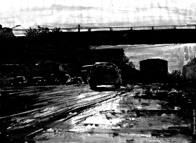 Inksperiment - 6, illustration, painting - sarychev | ello