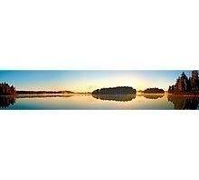 Sunrise lake Virserum early mor - leo_brix | ello