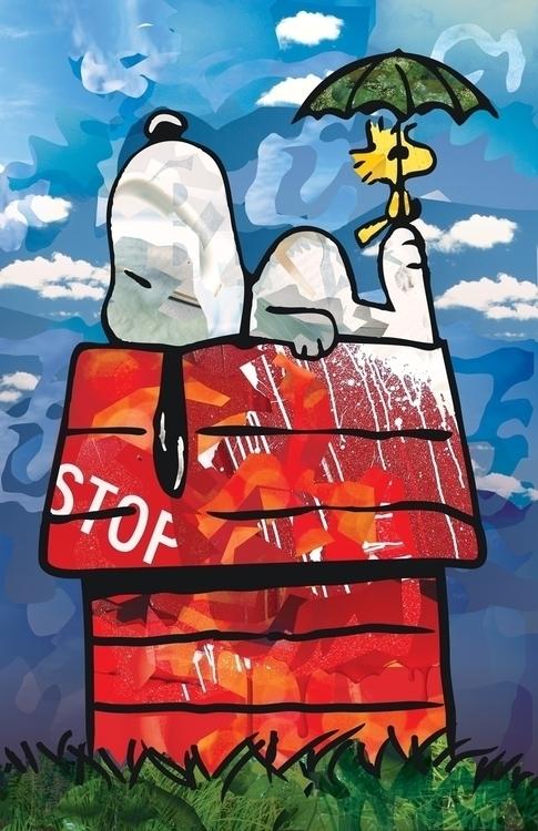Snoopy Woodstock - snoopy, woodstock - shikkaba | ello