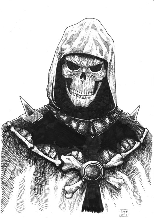 Skeletor - illustration, characterdesign - pittrorotelli | ello