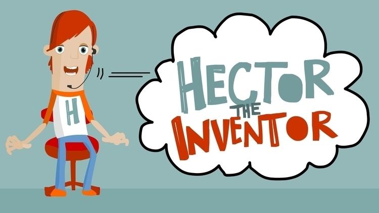 Hector Inventor, character desi - debbiejenkinson | ello