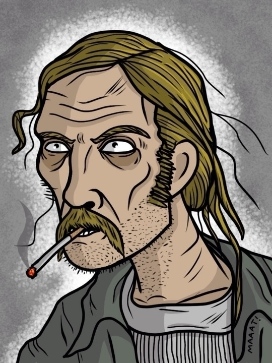 Rust Cohle - rustcohle, truedetective - mattyleegross | ello