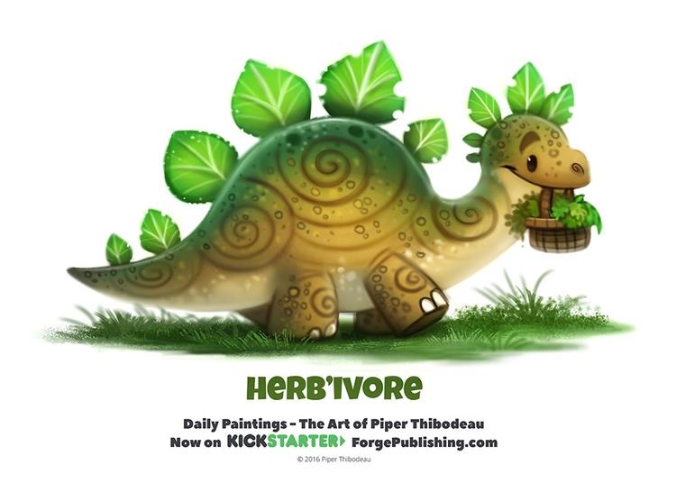 Daily 1360. Herb'ivore - piperthibodeau | ello