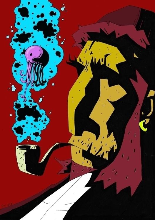 Sea Tales - illustration - pittrorotelli | ello