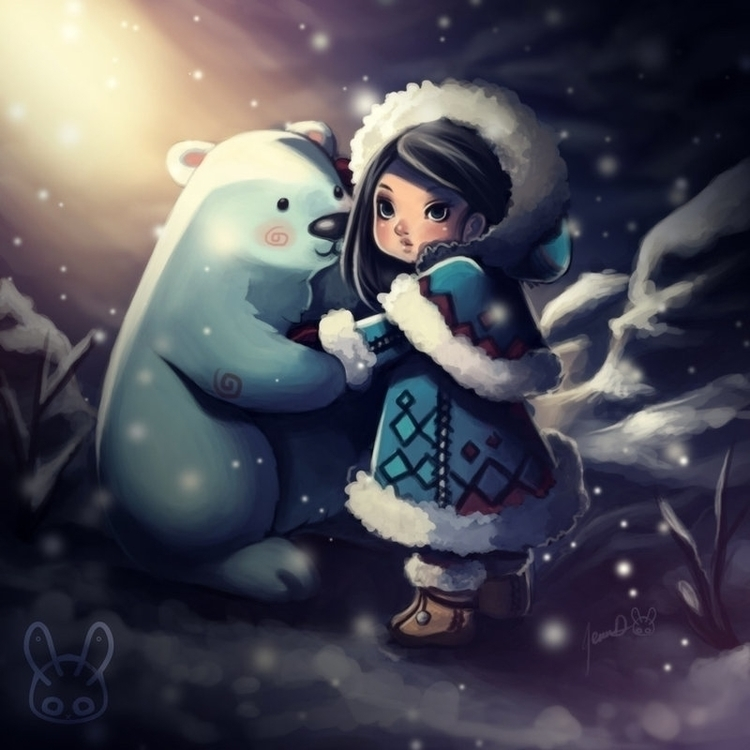 Eskimo - eskimo, polarbear - mechbunnies   ello