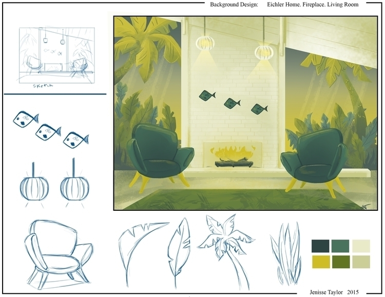 environment, propdesign - artbyjenisse | ello