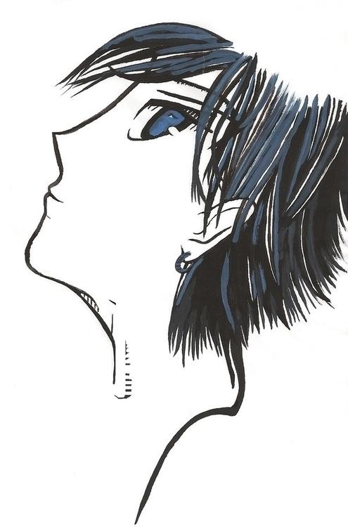 Gouache pilot - gouache, ink, paint - steersky-1263 | ello