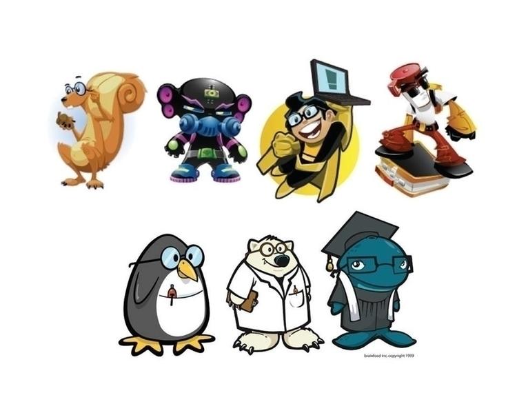 Minor character designs - illustration - khalidrobertson | ello