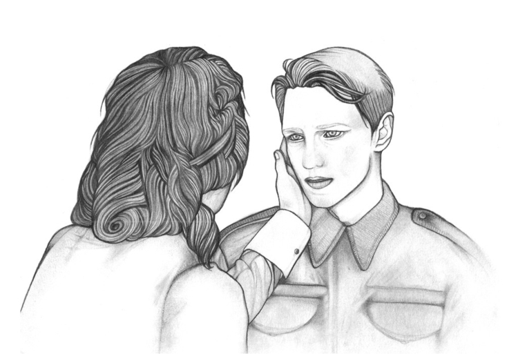 Atonement - illustration, mechanicalpencil - steersky-1263 | ello
