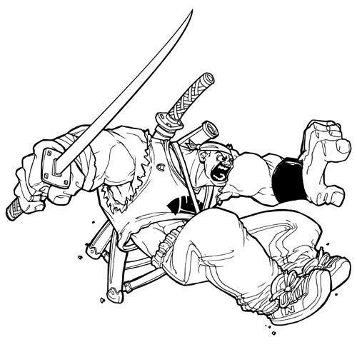Design comic book character - illustration - khalidrobertson | ello