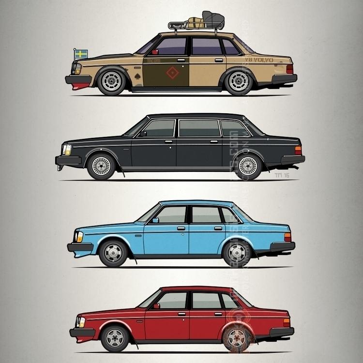 Stack Volvo 240 244 Sedans – Ar - monkeycrisisonmars | ello