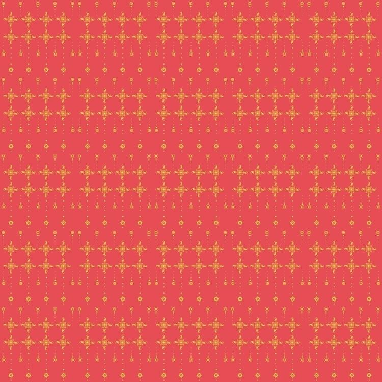 Amaya - pattern, patterndesign, gold - fatimaongleo | ello