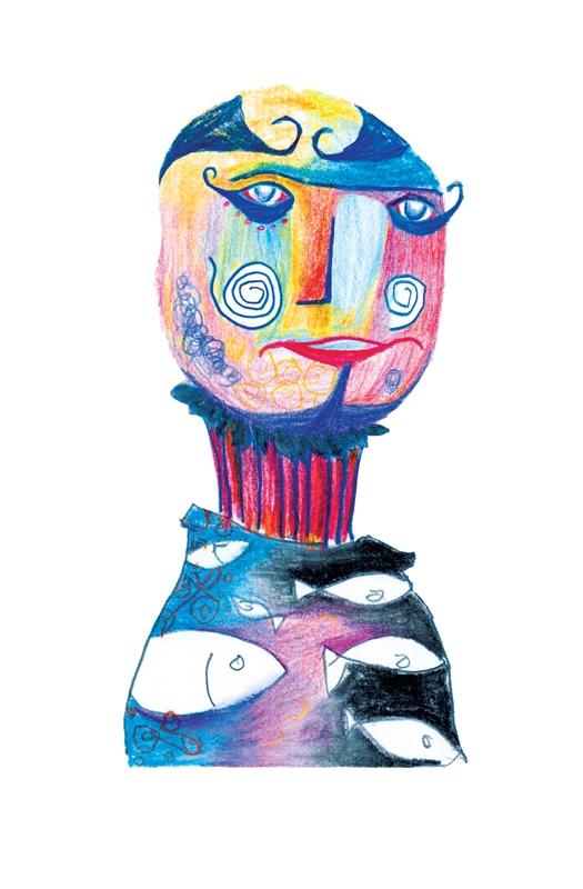 Eccentric - clown, design, fun, mixedmedia - saif-9654 | ello