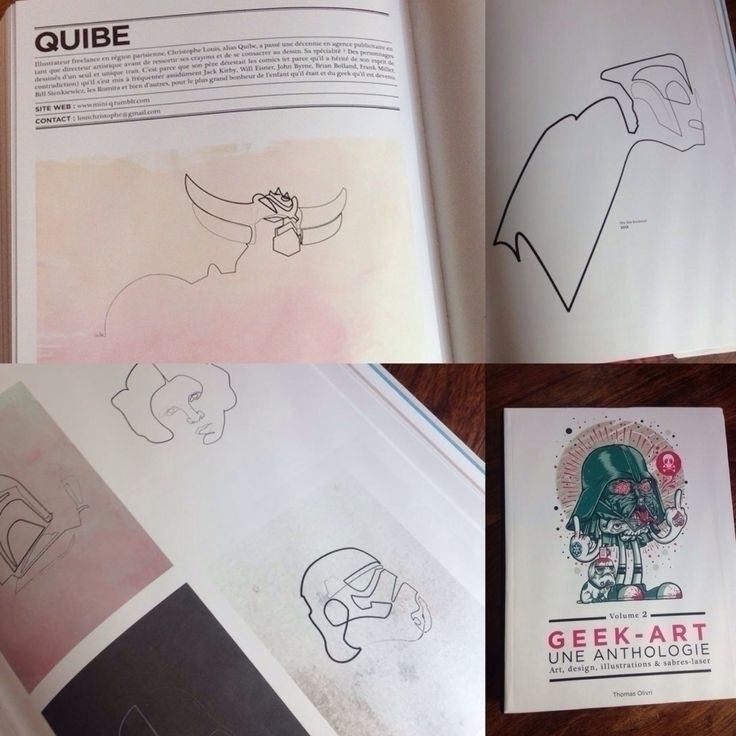 Quibe Geek-Art Anthology Vol 2 - quibe | ello
