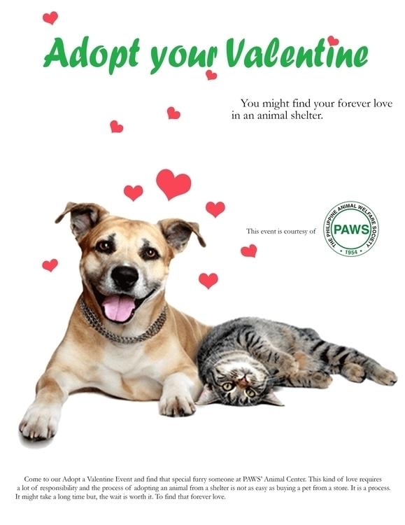 PAWS Valentine Ad - advertisement - fatimaongleo | ello