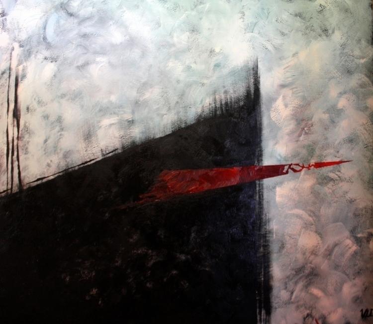 Abstract 01 - painting, abstract - alesa-7823   ello