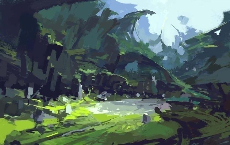 Torment :Tides Numenera- sketch - yuanchang | ello