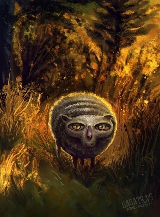 God sheep - illustration, digitalart - gagatka | ello