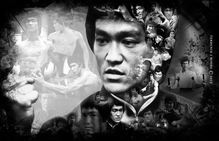 Water - bewater, illustration, brucelee - tjmcollection   ello