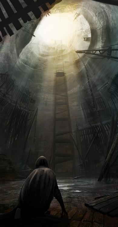 Concepts private project, cave  - drazic | ello
