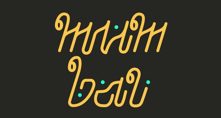 lettering, typography - antonbohlin-4241 | ello