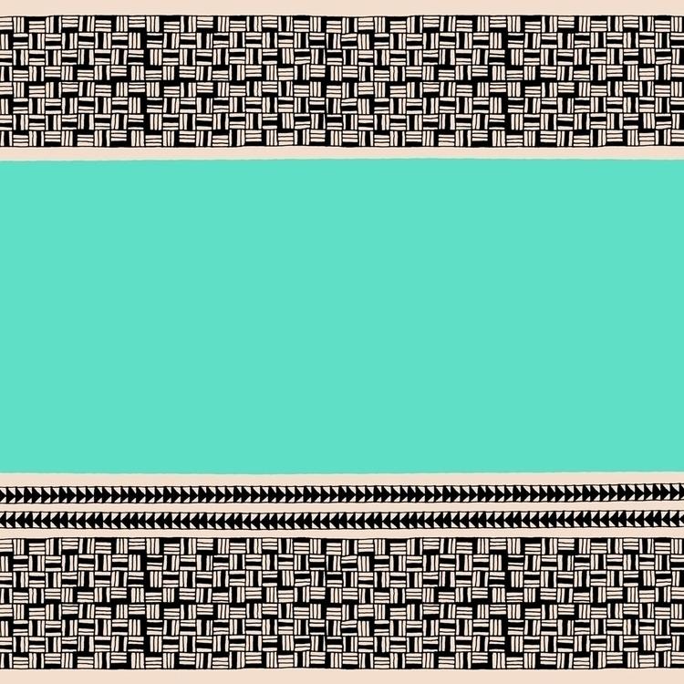 Rectangles + Teal 2015 - surfacedesign - amyconsolo | ello