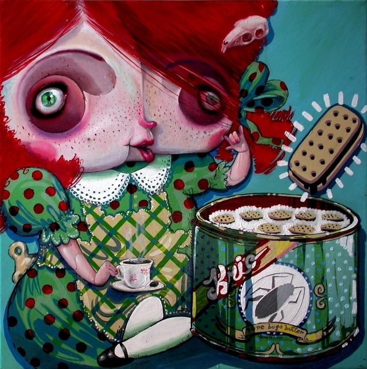 50x50, oil canvas, 2010 canvas  - kriospecialk   ello