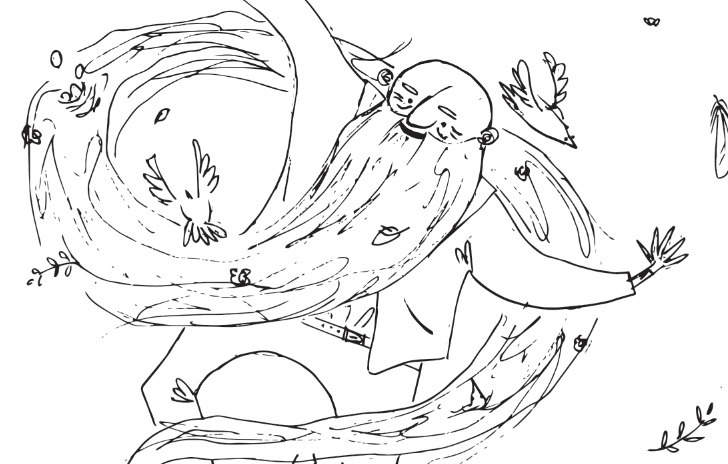 Leopold, glory - bird, illustration - finlaysonillustration | ello