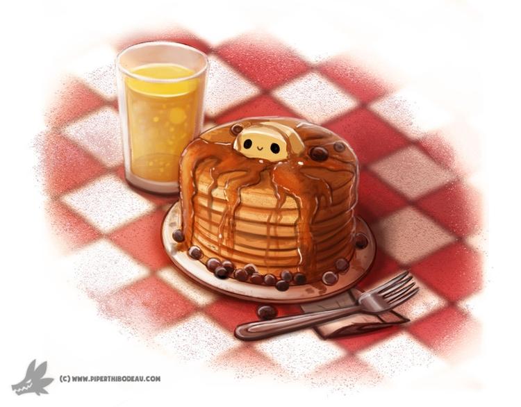 Day 828. pancakes - piperthibodeau | ello