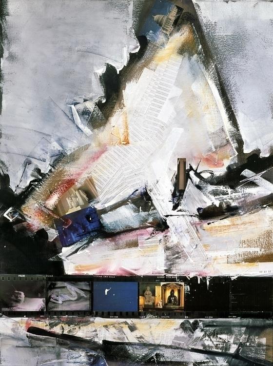 Atropos: oil, enamel, photograp - ritchard27   ello