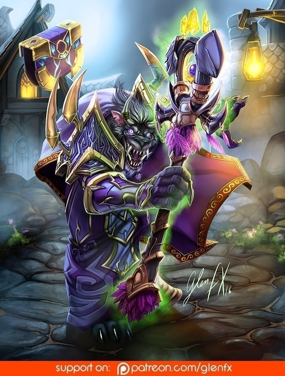 World Warcraft (player characte - glenfx | ello