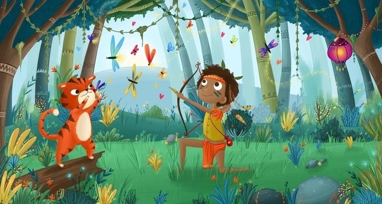 Jungle Book - kids illustration - illustratelucy   ello