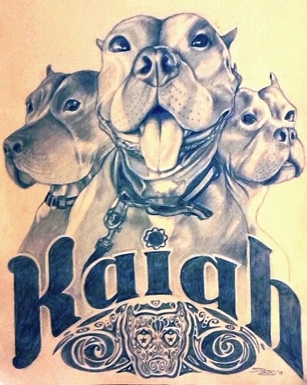 Pet Portrait - portrait, illustration - khalidrobertson | ello