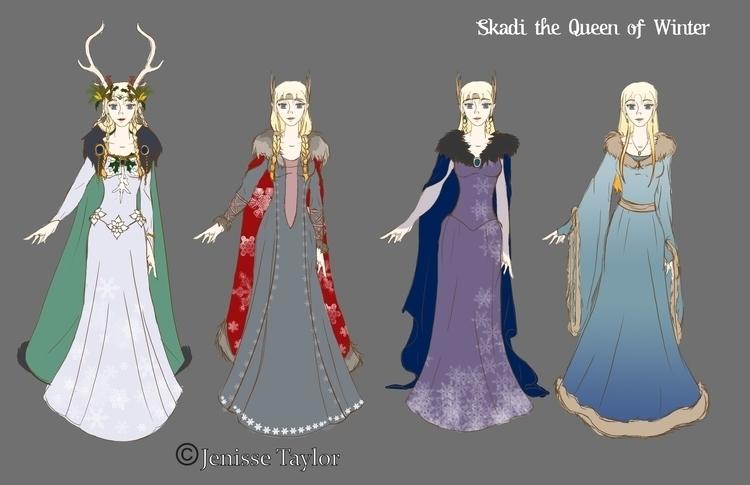characterdesign, costumedesign - artbyjenisse | ello