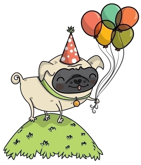 Pug Party - lydiajean-2936 | ello