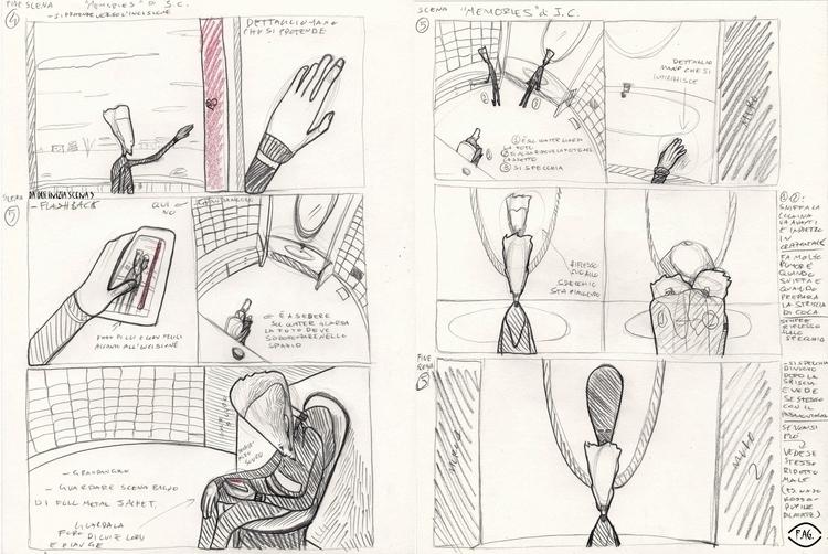Scene 5 Collaboration: Storyboa - fagfedericaaglietti | ello