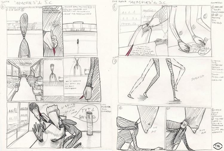 Scene 6 Collaboration: Storyboa - fagfedericaaglietti | ello