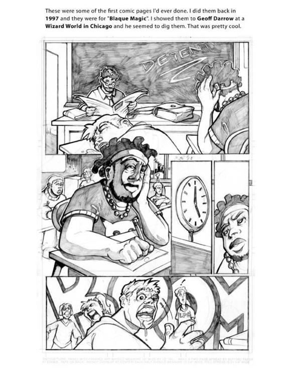 Blaque Magik  - illustration, comics - khalidrobertson | ello