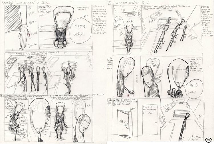 Scene 3 Collaboration: Storyboa - fagfedericaaglietti | ello