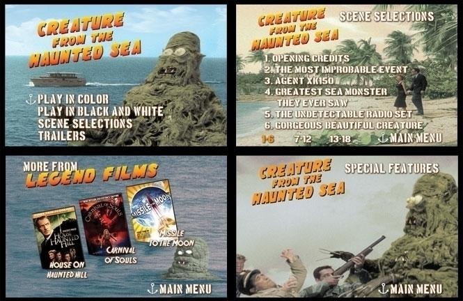 DVD Menus designed Creature Hau - jasonmartin-1263 | ello