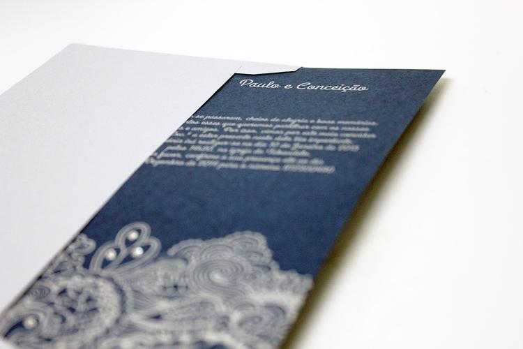 Silver Wedding Invitation - invitation - ritateixeira-5217 | ello