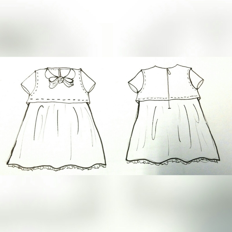 Production drawing -- Kidswear  - cincin-1000 | ello
