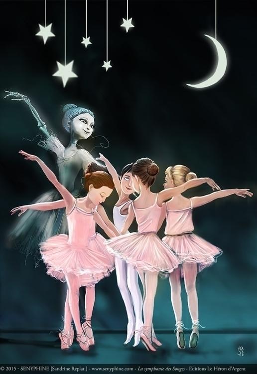Danseuse du Mont Chauve Illustr - senyphine | ello