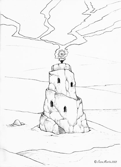 peek sketchbooks. Tower, circa  - jasonmartin-1263 | ello