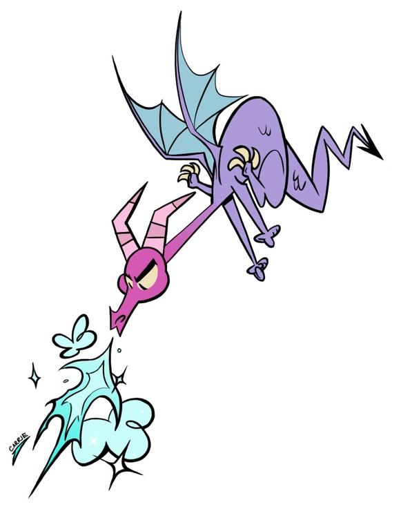 carriehankins, dragon - carriehankins | ello