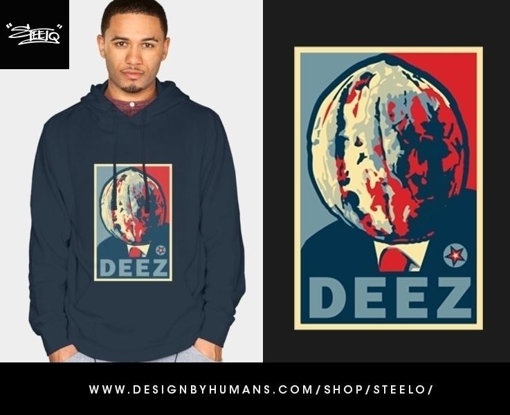 Deez Nuts President - illustration - khalidrobertson | ello
