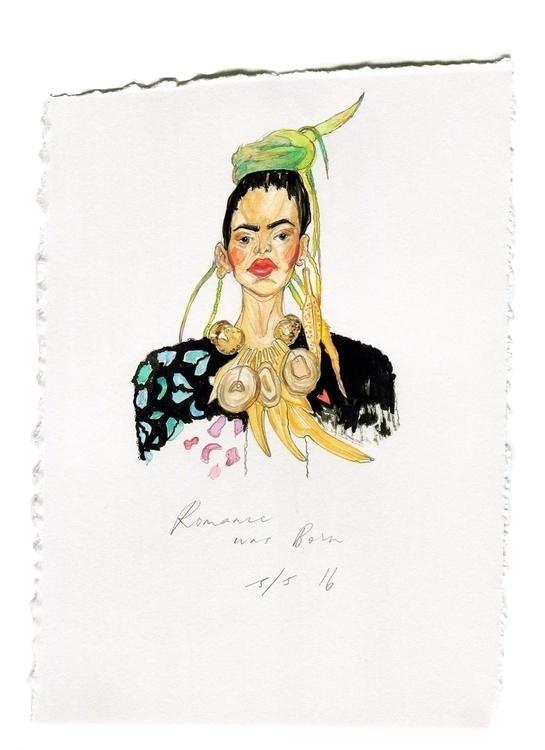 Romance Born - watercolor, watercolour - deepfriedfrenz | ello